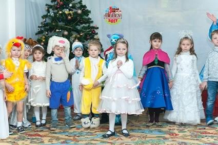 Новогодние утренники в Академии дошкольников БИГ БЕН