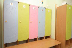 Фото детских шкафчиков в детском саду БИМ БОМ
