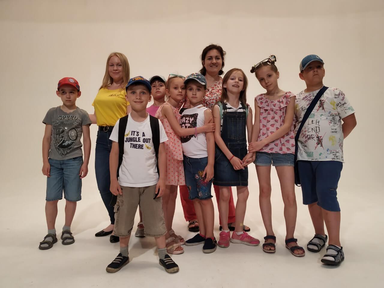 Фото детей лагерь БИГ БЕН на экскурсии